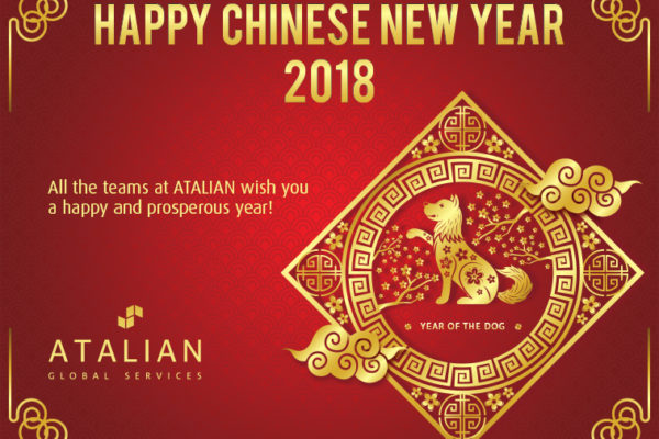 Happy Chinese New Year 2018 from ATALIAN Thailand