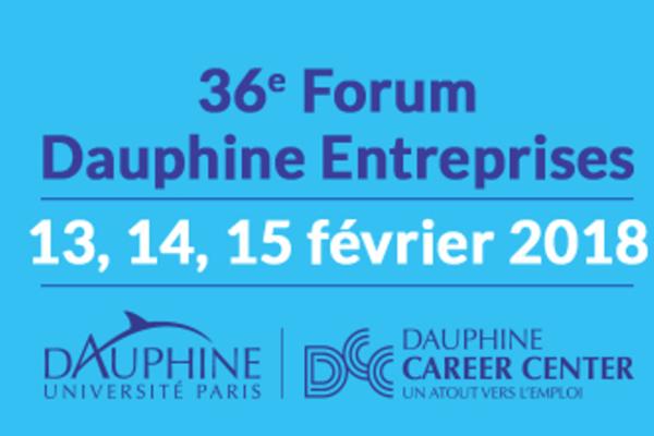 Forum Dauphine Entreprises