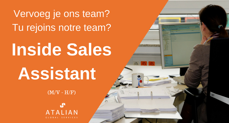 Inside Sales Assistant BXL ATALIAN