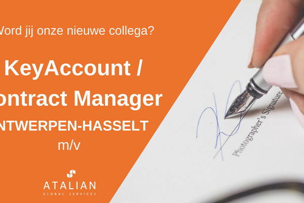 ATALIAN Contract Manager Antwerpen Hasselt
