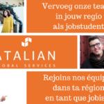 Jobstudent ATALIAN BELGIUM