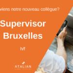 ATALIAN Supervisor Bruxelles