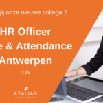 ATALIAN HR Officer T&A Antwerpen
