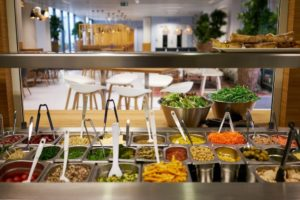 ATALIAN Green Kitchen Salad bar