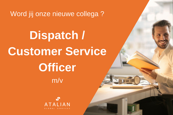 ATALIAN Dispatch Customer Service Officer