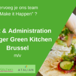 Event & Administration Manager Green Kitchen