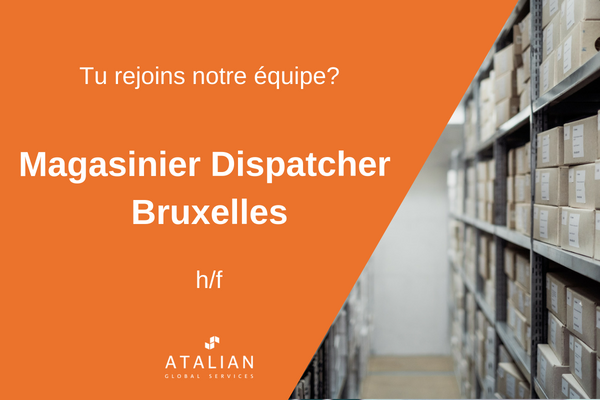 ATALIAN Magasinier dispatcher