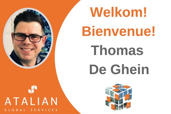 Welcome Thomas De Ghein