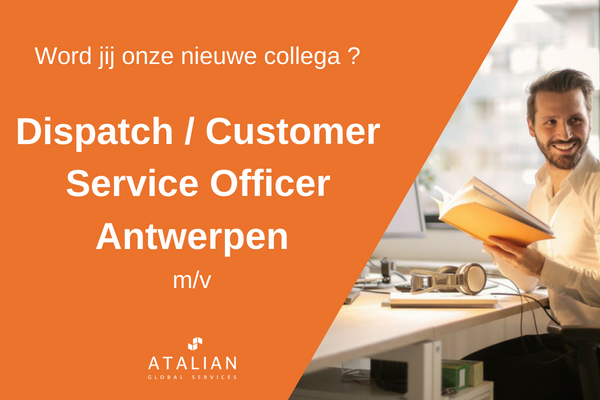 Dispatch Customer Service Officer Antwerpen