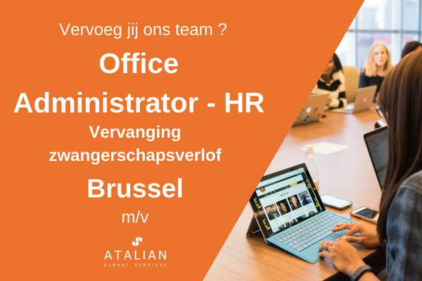 Office Admin HR BXL NL