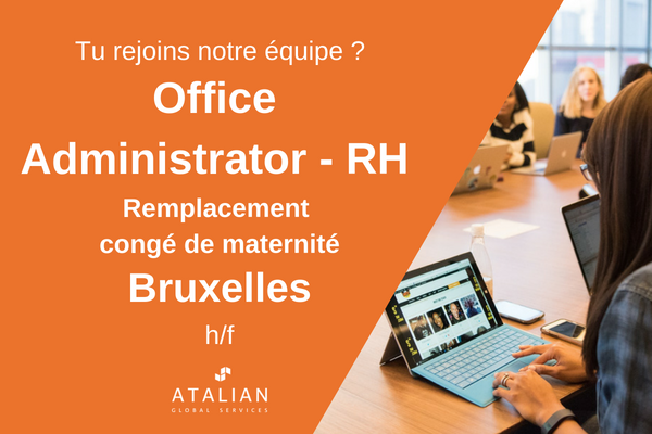 Office Admin HR BXL fr