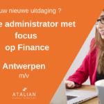 Office Admin focus finance Antwerpen