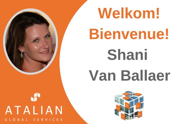 Welcome Shani Van Ballaer