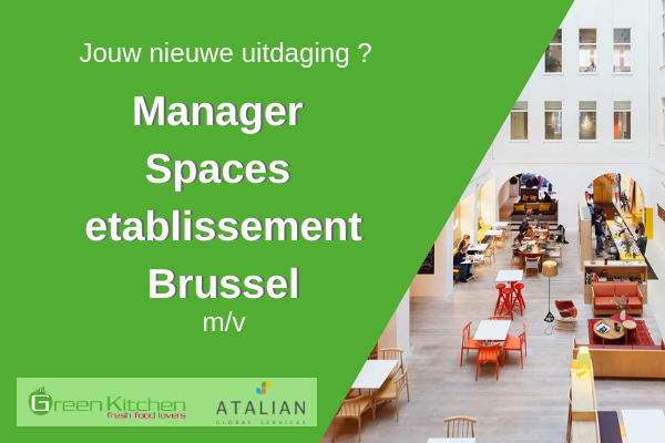 SPACES Manager Green Kitchen Brussel