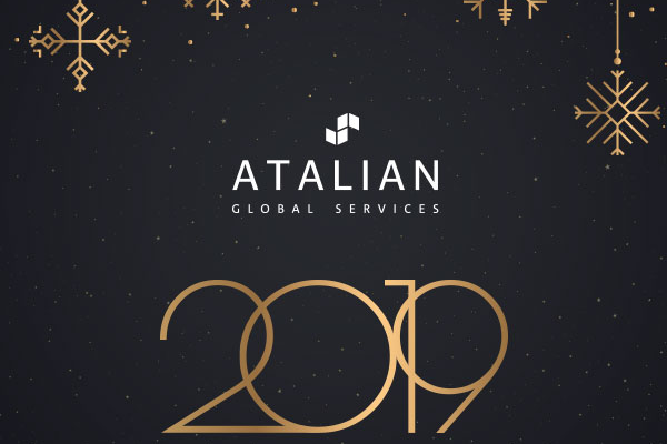 ATALIAN Belgium season's greetings 2019