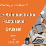 Office Administrator Facturatie Brussel