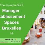 SPACES Manager Green Kitchen BXL