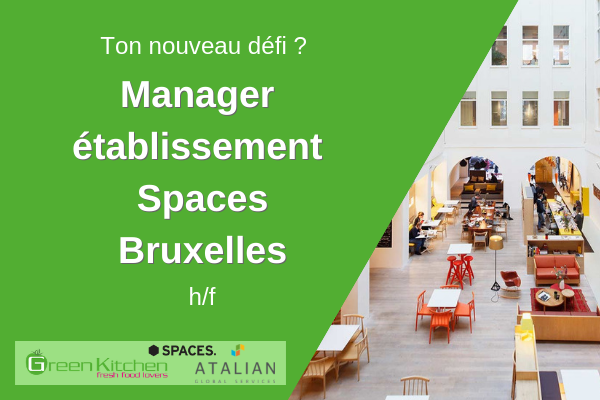 SPACES Manager Green Kitchen BXL