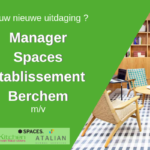 SPACES Manager Green Kitchen Berchem