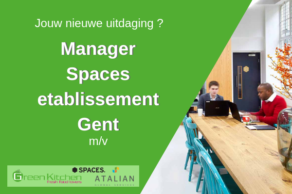 SPACES Manager Green Kitchen Gent