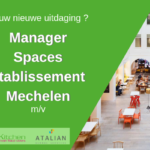 SPACES Manager Green Kitchen Mechelen
