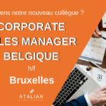 Corporate Sales Manager Belgique