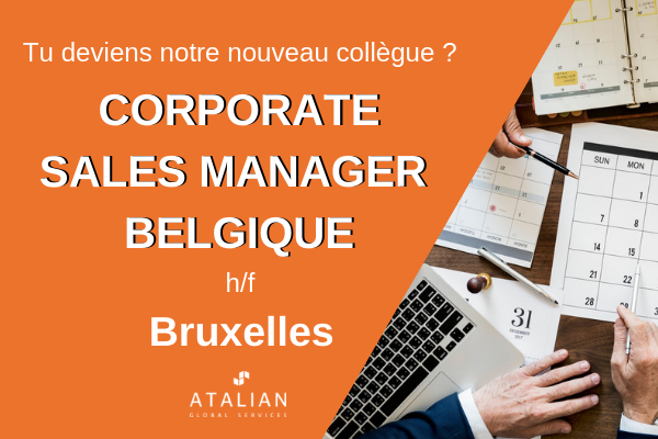 Corporate Sales Manager Belgique