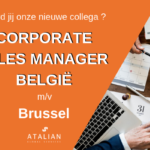 Corporate Sales Manager België