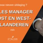 Sales Manager Oost en West-Vlaanderen