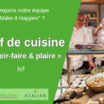 Chef de cuisine (m_v) Green Kitchen - Evere
