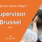ATALIAN Supervisor Brussel