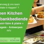 Toonbankbediende Oelegem (m_v) Green Kitchen