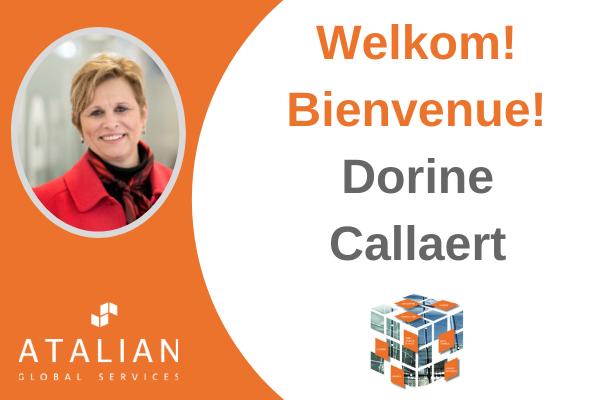Bienvenue Dorine Callaert