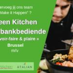 Toonbankbediende Brussel (m_v) Green Kitchen