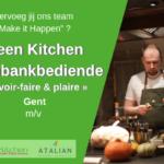 Toonbankbediende Gent (m_v) Green Kitchen
