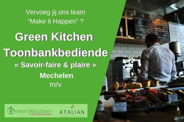 Toonbankbediende Mechelen(m_v) Green Kitchen