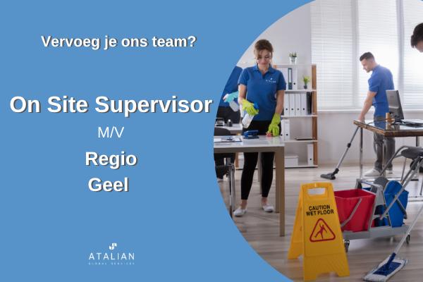 On Site Supervisor Geel