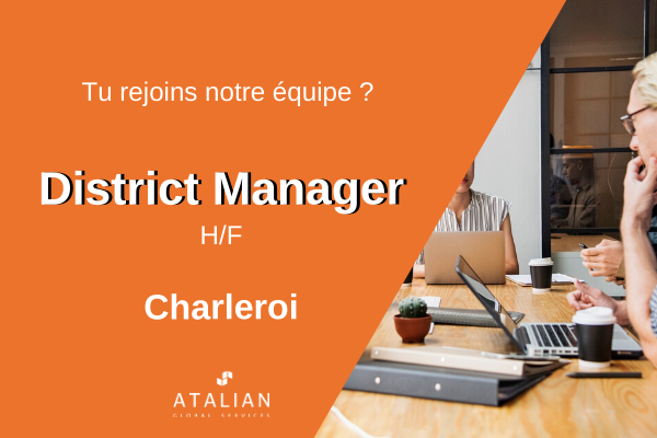 District Manager Charleroi