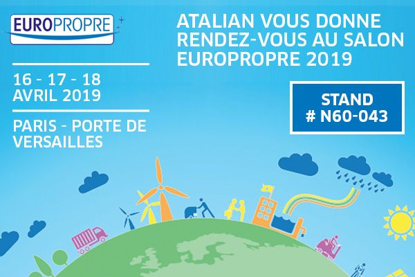 ATALIAN présent au salon Europropre 2019