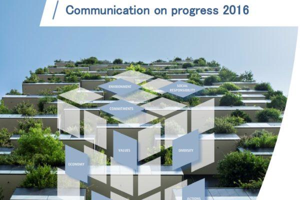 Communication on Progress 2016, United Nations Global Compact