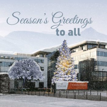 2018, Season's greetings, Happy New Year 2018,