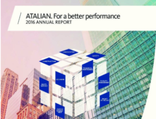 ATALIAN's Annual Report 2016, Publication,