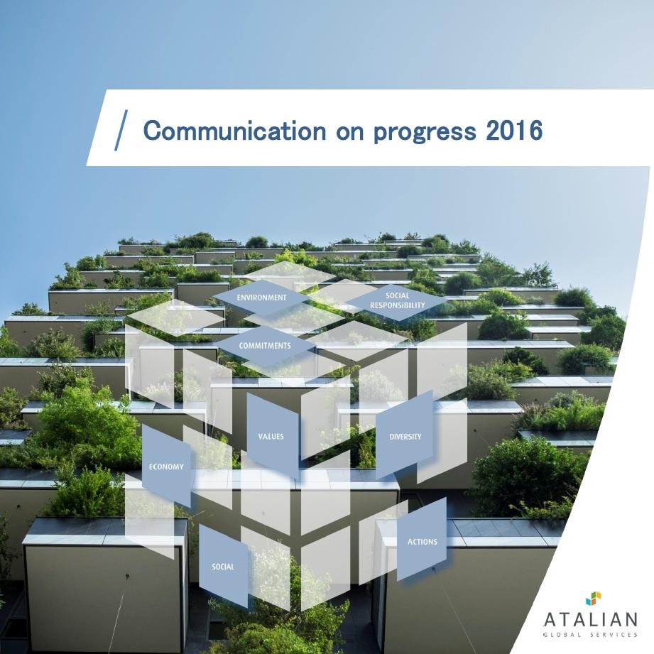 ATALIAN Communication on Progress United Nations Global Compact
