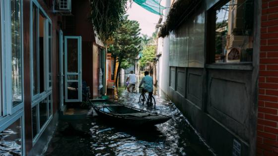 3.Deep clean after flooded homepremises