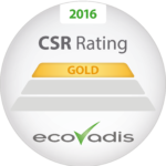 ATALIAN won the EcoVadis gold medal for 2016