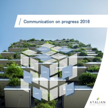 ATALIAN's Communication on Progress 2016