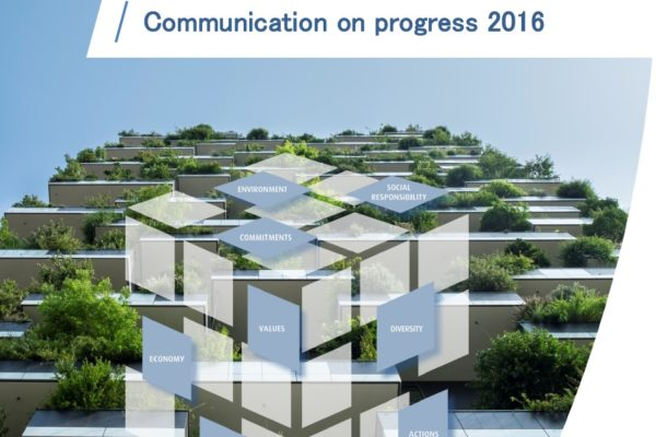 United Nations Globabl Compact Communication on Progress 2016
