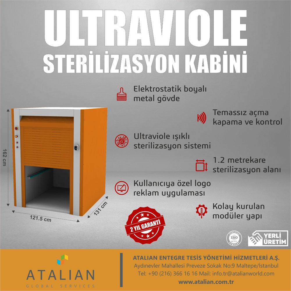 Ultraviole Sterilizasyon Kabini
