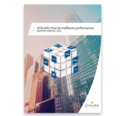 Rapport Annuel 2016 Atalian