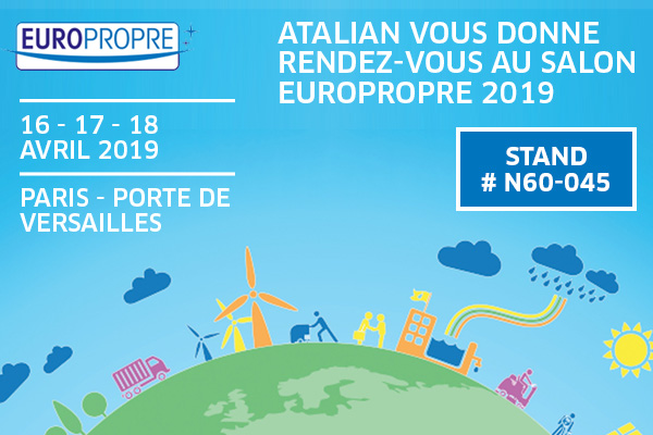 ATALIAN présent à Europropre 2019